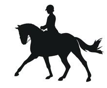 Equestrian Sport, Dressage, Si...