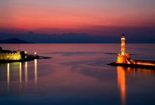 CHANIA, CRETE ISLAND, GREECE. ...