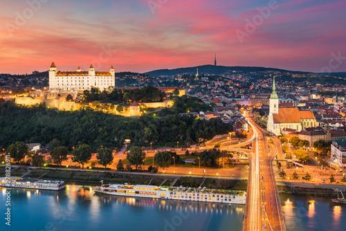 Photo  Skyline of Bratislava, Slovakia