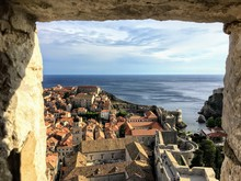 A View Through The Stone Windo...