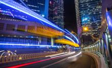Hong Kong Central At Night, Hong Kong, China