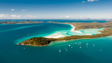 Hill Inlet From The Air Over W...