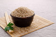 Brown unpolished rice