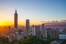 Panoramic View Of Taipei City ...