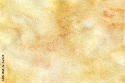 Fotografie, Tablou  Watercolor vintage steampunk background (pattern) with drops and splashes