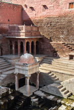 Toor Ji Ka Baori Step Well In Jodhpur. India