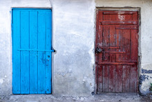 Old Wooden Doors To Poor Homes...