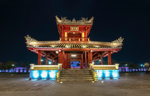 Phu Van Pavilion At Night In F...