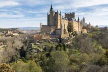 Alcazar Of Segovia, Castilla-Leon, Spain