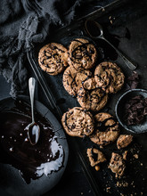 Chocolate Chip Cookies With Da...