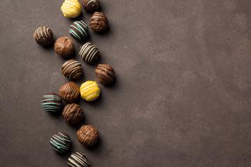 chocolates praline variety ...