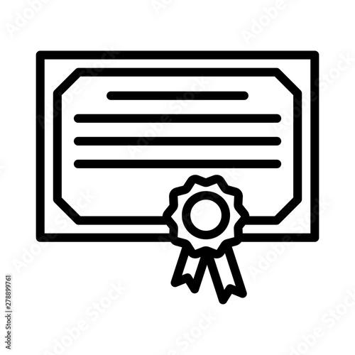 Photo certificate
