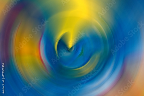Soft Ripple Action Of Sound Sonic Wave Formed In Centre