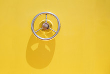 Wheel Hatch On Yellow Vessel D...