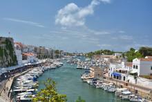 Sea Port In Ciutadella On Meno...