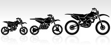 Kids Motocross Set, In Varied Sizes