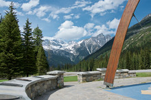 Rogers Pass Summit Monument, R...