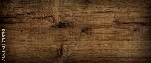 Foto op Plexiglas Panoramafoto s Old Oak Wood Vintage Background Panorama
