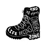Life begins at the end of your comfort zone - 278963386