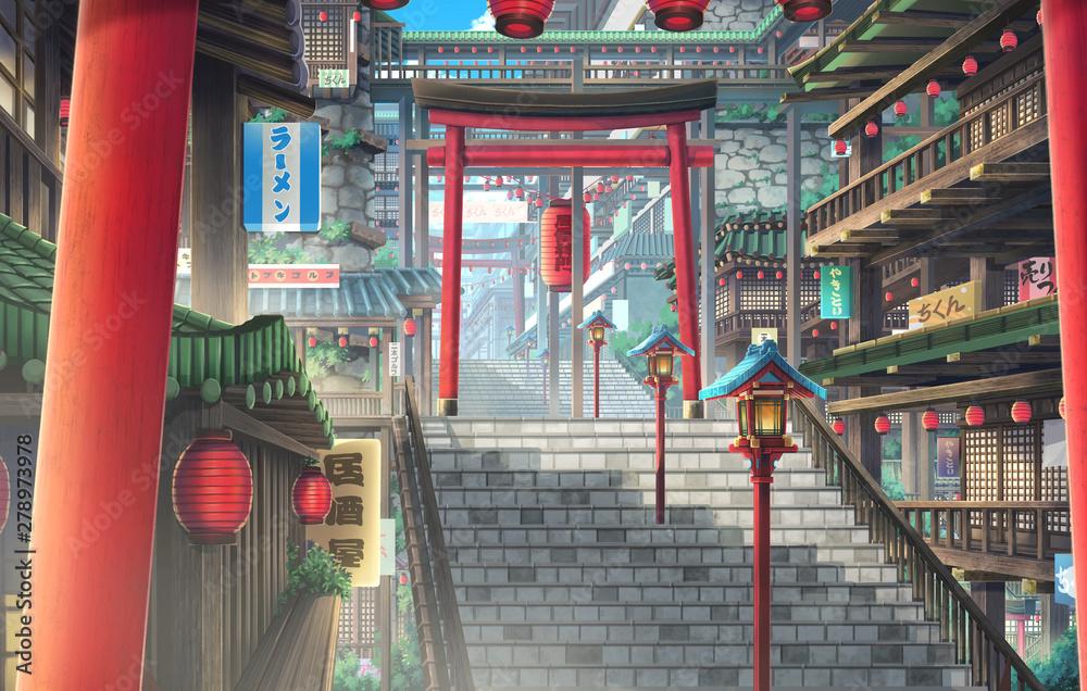 Secret Town - Day <span>plik: #278973978 | autor: Deztinie</span>