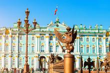 Saint Petersburg, Russia. Wint...