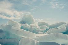Blue Ice Mackinac Straight