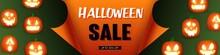 Halloween Sale Template Design...