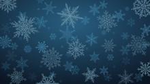 Christmas Background With Vari...