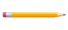 Vector Realistic Pencil With E...