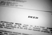 Deed For Real Property Transfer Or Sale