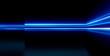 3d Illustration. 3D Studio Space. Led light panels. Future tech. Shine stylish scene. Neon flare. Colorful sparkling rays. Mystic beam. Magic bright lines. Hologram display. Digital screen.