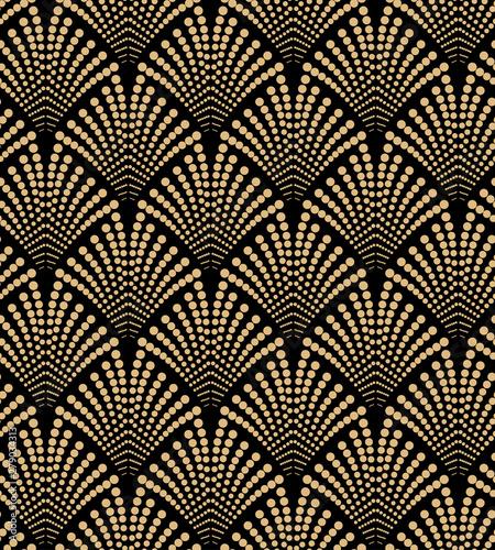 Tapety Art Deco  art-deco-wzor-bez-szwu-zlote-elementy-na-czarnym-tle