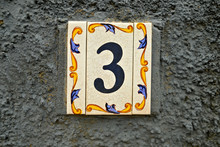 Number 3, Digit Three, Decorat...
