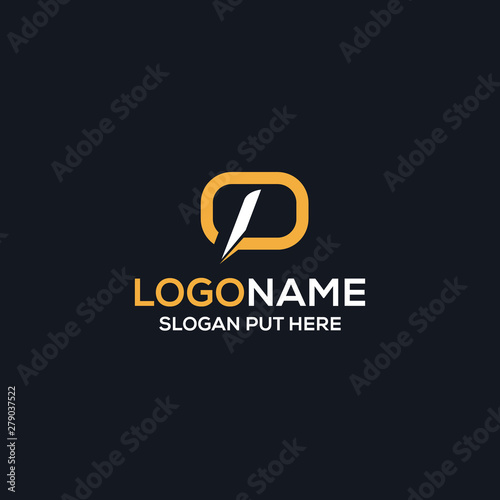 Fotomural  DP OR OP LOGO/IDENTITY DESIGN FOR USE ALL PURPOSE