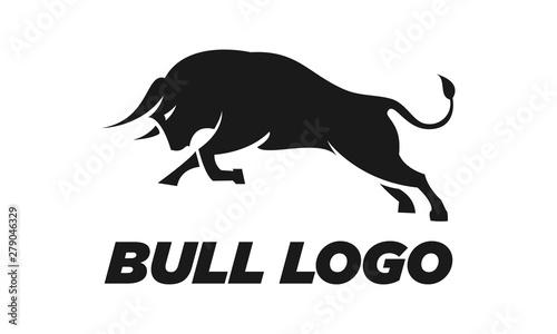 Tableau sur Toile Bull vector logo