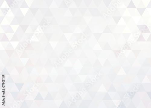 Blank and white geometric pattern Canvas Print