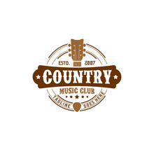 Vector Country Music Club Typo...
