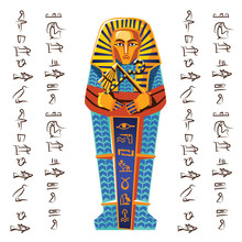 Ancient Egypt Vector Cartoon I...