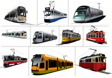 City Transport. Ten Kinds Of T...