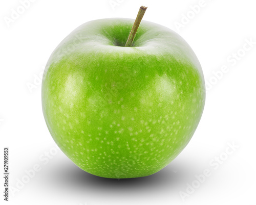 Fotografie, Obraz  Green Apple isolated