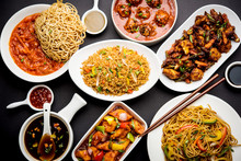 Assorted Indo Chinese Dishes I...
