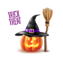 Vector Halloween Holiday 3d Po...