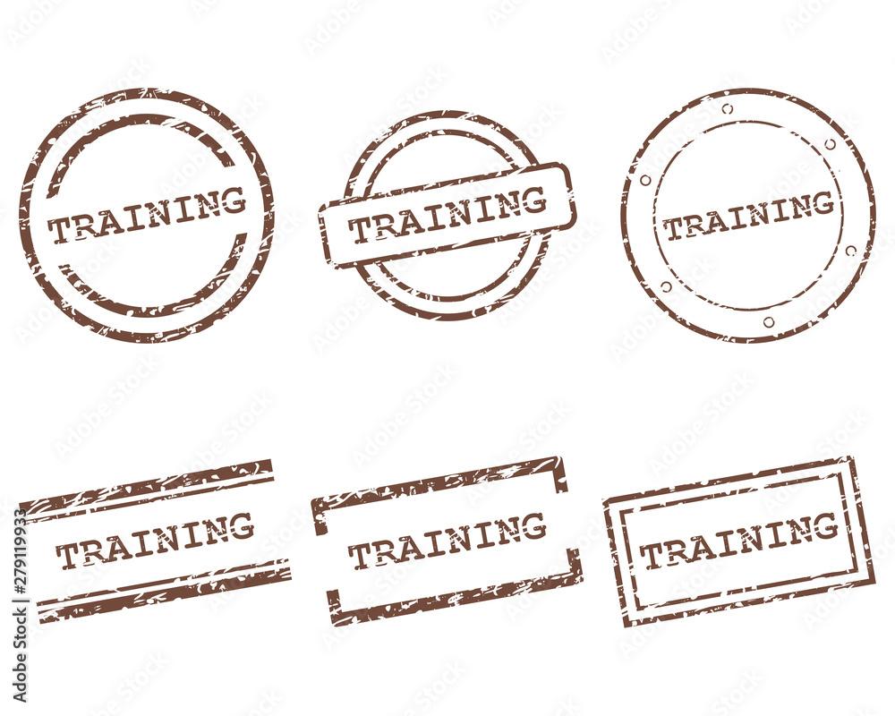 Fototapety, obrazy: Training Stempel