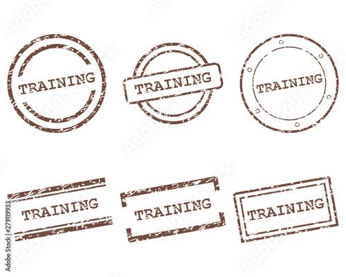 Obraz Training Stempel - fototapety do salonu