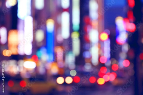 plakat Big city lights