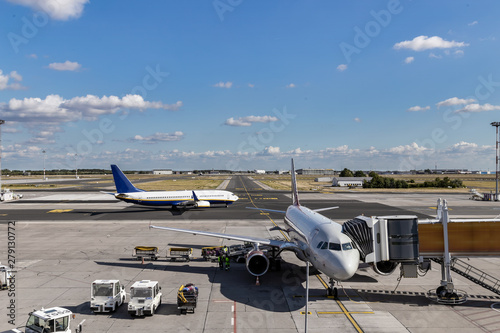 Poster Aeroport normal operation of the airport