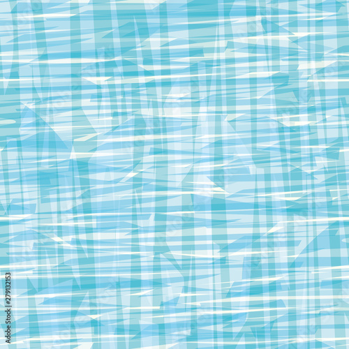 Abstract blue and white painterly canvas or water effect