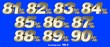 canvas print picture - Percentage numbers VOL.9 Gold metallic finish with removable background.