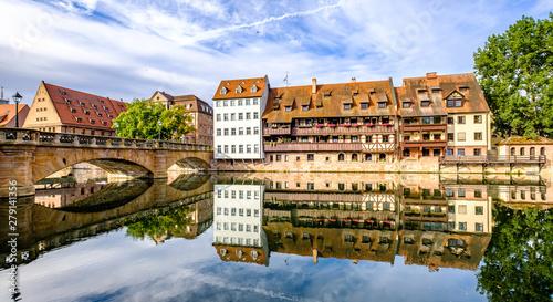 Keuken foto achterwand Oude gebouw nuremberg - famous old town