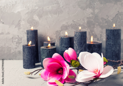 Poster Spa Spa wellness background